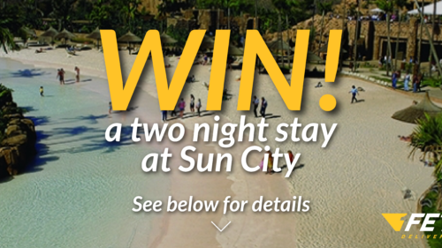 Win a two night stay at Sun City